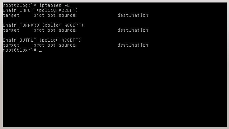 Configuracon Firewall en Debian