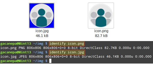 Manipulación de imágenes con ImageMagick: Cambio de fondo y formato