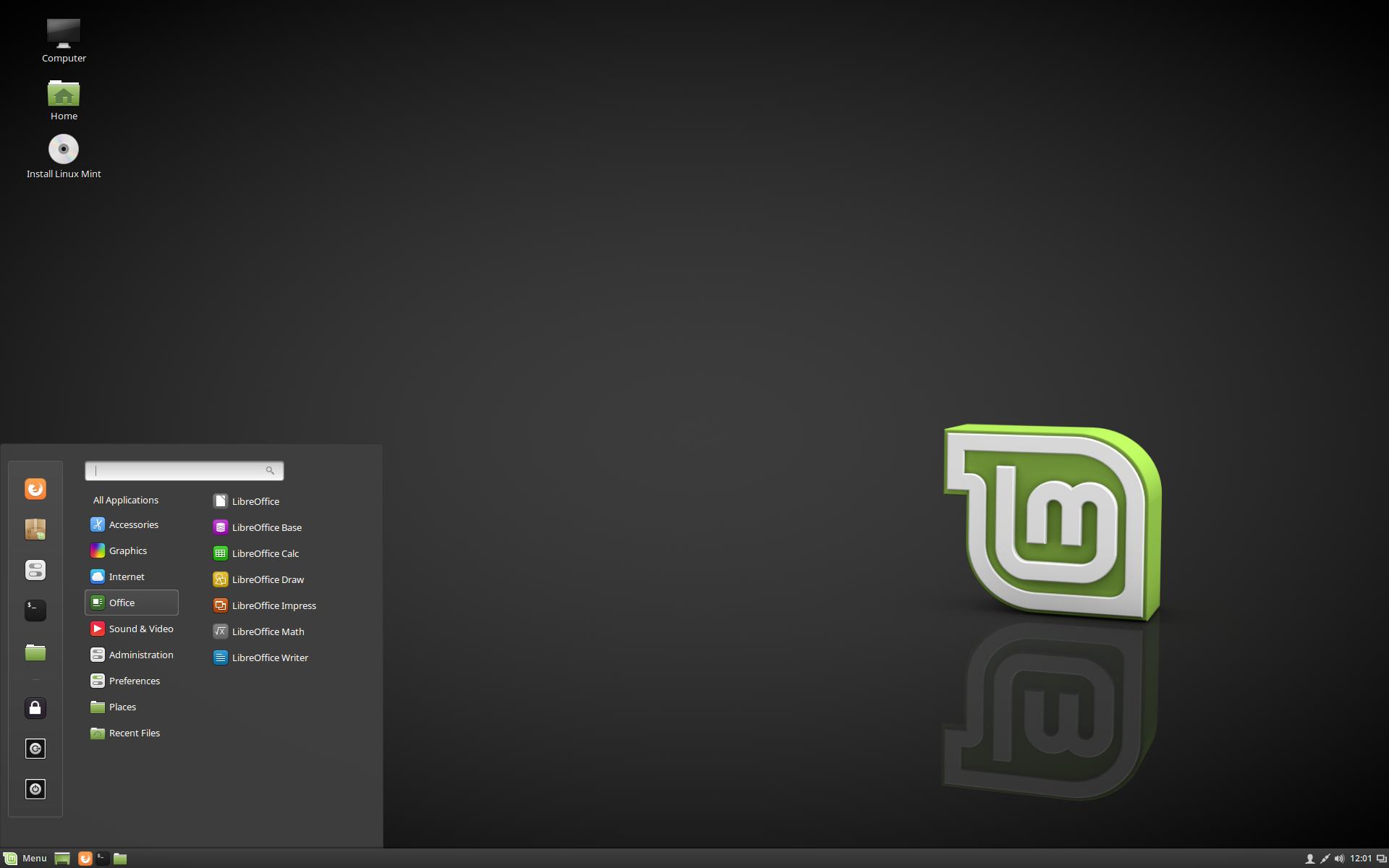 Figura 1 - Distribuciones populares de Linux: Linux Mint