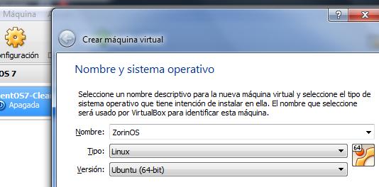Nuestra primera máquina virtual Linux: Primer paso