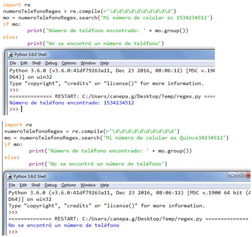 El módulo re en Python: uso de las funciones compile y search
