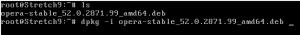 Instalando paquetes en Debian version corta