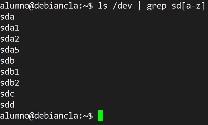 Comando para ver discos y particiones en Linux