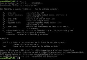 Ayuda en Gnu Linux