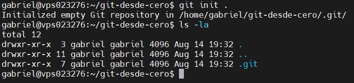 Crear un nuevo repositorio con Git